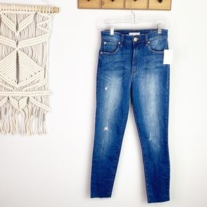 STS BLUE brie high rise skinny jeans